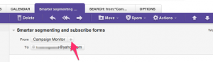 Yahoo Mail Whitelisting Steps